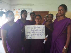 ASHA workers on Breastfeeding week