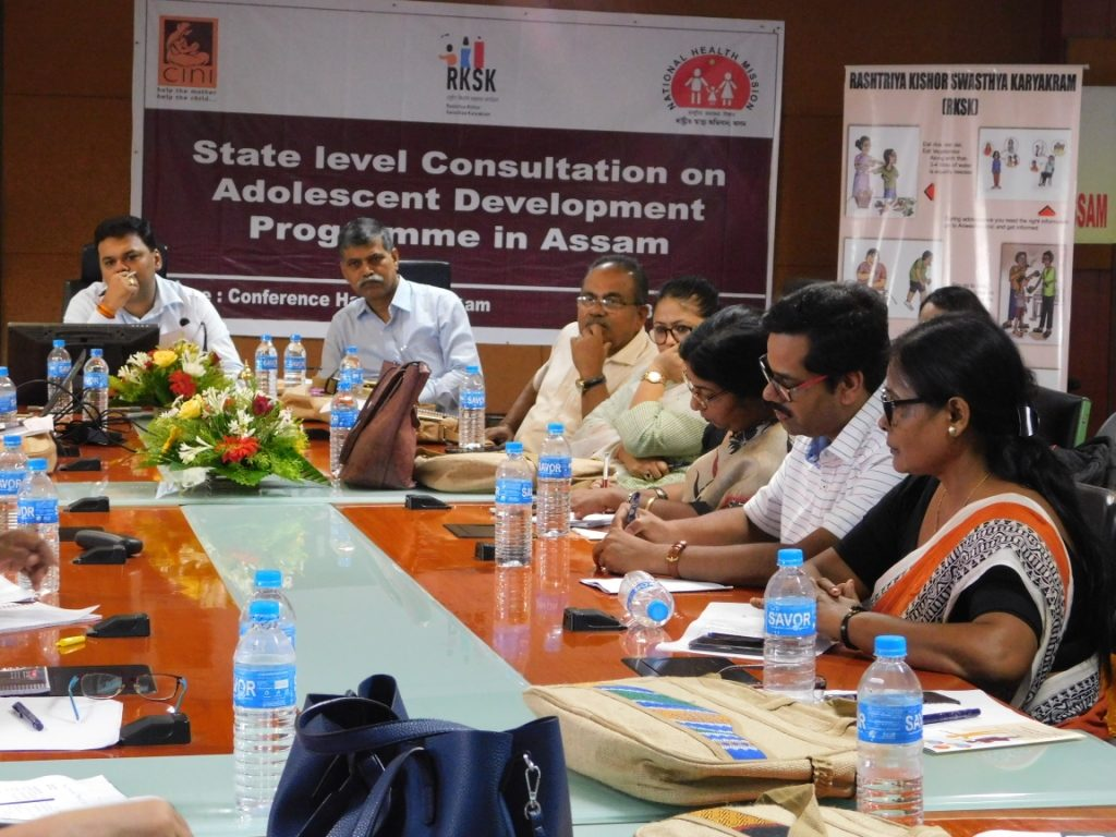 State level consultation on Adolescent health